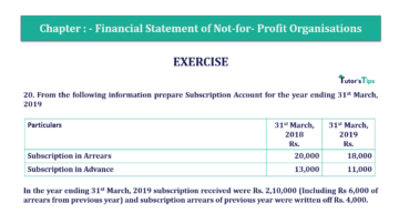 Question No.20 Chapter No.1 T.S. Grewal 2 Book Part A 2019 Solution min min 360x202 - Chapter No. 1 - Financial Statement of Not-For-Profit Organisations