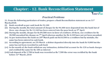 Question No.21 Chapter No.12 T.S. Grewal 1 Book 2019 Solution min min 360x202 - Bank Reconciliation Statement – T.S. Grewal 11 Class – Book Solution