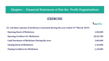 Question No.22 Chapter No.1 T.S. Grewal 2 Book Part A 2019 Solution min min 360x202 - Chapter No. 1 - Financial Statement of Not-For-Profit Organisations