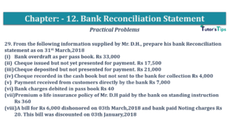 Question No.29 Chapter No.12 T.S. Grewal 1 Book 2019 Solution min min 360x202 - Bank Reconciliation Statement – T.S. Grewal 11 Class – Book Solution