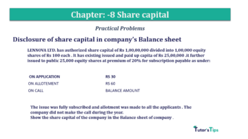 Question No.3 Chapter No.8 T.S. Grewal 2 Book 2019 Solution min min 360x202 - Chapter No. 8 - Company Accounts - Accounting for Share Capital