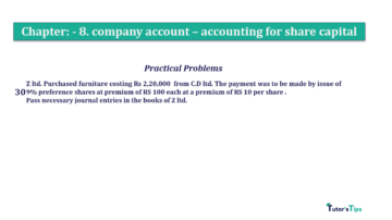 Question No.30. Chapter No.8 T.S. Grewal 2 Book 2019 Solution min min 360x202 - Chapter No. 8 - Company Accounts - Accounting for Share Capital
