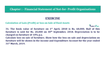 Question No.31 Chapter No.1 T.S. Grewal 2 Book Part A 2019 Solution min min 360x202 - Chapter No. 1 - Financial Statement of Not-For-Profit Organisations