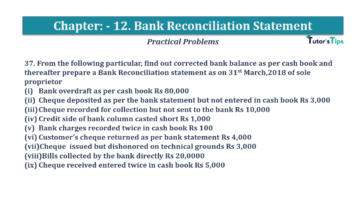 Question No.37 Chapter No.12 T.S. Grewal 1 Book 2019 Solution min min 360x202 - Bank Reconciliation Statement – T.S. Grewal 11 Class – Book Solution