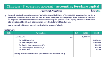 Question No.37. Chapter No.8 T.S. Grewal 2 Book 2019 Solution min min 360x202 - Chapter No. 8 - Company Accounts - Accounting for Share Capital