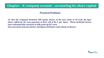 Question No.52. Chapter No.8 T.S. Grewal 2 Book 2019 Solution min min 360x202 - Chapter No. 8 - Company Accounts - Accounting for Share Capital