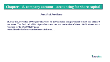Question No.56. Chapter No.8 T.S. Grewal 2 Book 2019 Solution min min 360x202 - Chapter No. 8 - Company Accounts - Accounting for Share Capital