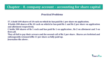 Question No.57. Chapter No.8 T.S. Grewal 2 Book 2019 Solution min min 360x202 - Chapter No. 8 - Company Accounts - Accounting for Share Capital