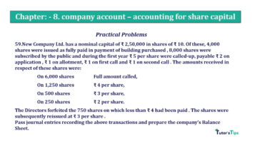 Question No.59. Chapter No.8 T.S. Grewal 2 Book 2019 Solution min min 360x202 - Chapter No. 8 - Company Accounts - Accounting for Share Capital