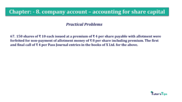 Question No.67. Chapter No.8 T.S. Grewal 2 Book 2019 Solution min min 360x202 - Chapter No. 8 - Company Accounts - Accounting for Share Capital
