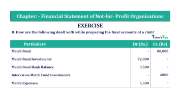 Question No.8 Chapter No.1 T.S. Grewal 2 Book Part A 2019 Solution min min 360x202 - Chapter No. 1 - Financial Statement of Not-For-Profit Organisations