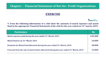 Question No.9 Chapter No.1 T.S. Grewal 2 Book Part A 2019 Solution min min 360x202 - Chapter No. 1 - Financial Statement of Not-For-Profit Organisations