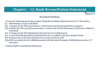 Question No.9 Chapter No.12 T.S. Grewal 1 Book 2019 Solution min min 360x202 - Bank Reconciliation Statement – T.S. Grewal 11 Class – Book Solution