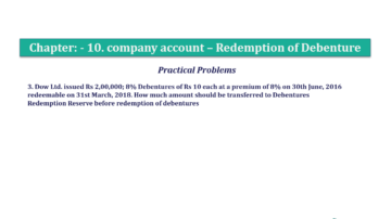 Question No. 03 Chapter No.10 T.S. Grewal 2 Book Part B min 360x202 - Chapter No. 10 - Redemption of Debentures - Solution - Class 12