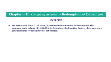 Question No. 08 Chapter No.10 T.S. Grewal 2 Book Part B min 360x202 - Chapter No. 10 - Redemption of Debentures - Solution - Class 12