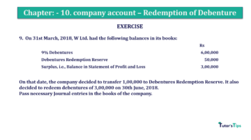 Question No. 09 Chapter No.10 T.S. Grewal 2 Book Part B min 360x202 - Chapter No. 10 - Redemption of Debentures - Solution - Class 12