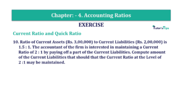 Question No. 10 Chapter No.4 T.S. Grewal 2 Book Part B min 360x202 - Chapter No. 4 - Accounting Ratios - Solution - Class 12