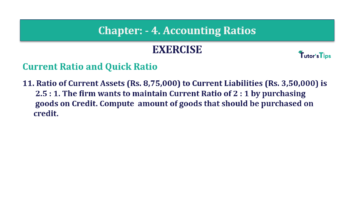 Question No. 11 Chapter No.4 T.S. Grewal 2 Book Part B min 360x202 - Chapter No. 4 - Accounting Ratios - Solution - Class 12