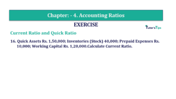 Question No. 16 Chapter No.4 T.S. Grewal 2 Book Part B min 360x202 - Chapter No. 4 - Accounting Ratios - Solution - Class 12