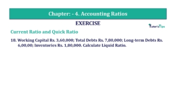 Question No. 18 Chapter No.4 T.S. Grewal 2 Book Part B min 360x202 - Chapter No. 4 - Accounting Ratios - Solution - Class 12