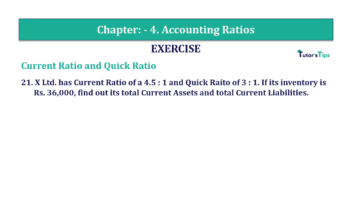 Question No. 21 Chapter No.4 T.S. Grewal 2 Book Part B min 360x202 - Chapter No. 4 - Accounting Ratios - Solution - Class 12
