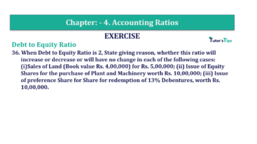 Question No. 36 Chapter No.4 T.S. Grewal 2 Book Part B min 360x202 - Chapter No. 4 - Accounting Ratios - Solution - Class 12