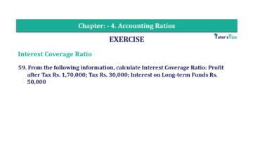 Question No. 59 Chapter No.4 T.S. Grewal 2 Book Part B min 360x202 - Chapter No. 4 - Accounting Ratios - Solution - Class 12