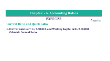 Question No. 6 Chapter No.4 T.S. Grewal 2 Book Part B min 360x202 - Chapter No. 4 - Accounting Ratios - Solution - Class 12