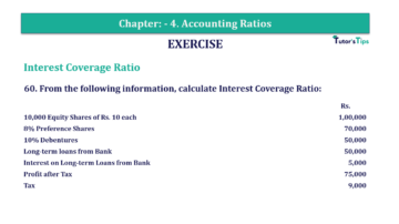 Question No. 60 Chapter No.4 T.S. Grewal 2 Book Part B min 360x202 - Chapter No. 4 - Accounting Ratios - Solution - Class 12
