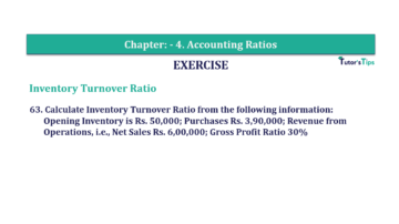 Question No. 63 Chapter No.4 T.S. Grewal 2 Book Part B 360x202 - Chapter No. 4 - Accounting Ratios - Solution - Class 12