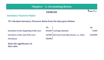 Question No. 70 Chapter No.4 T.S. Grewal 2 Book Part B min 360x207 - Chapter No. 4 - Accounting Ratios - Solution - Class 12