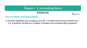 Question No. 9 Chapter No.4 T.S. Grewal 2 Book Part B min 360x202 - Chapter No. 4 - Accounting Ratios - Solution - Class 12