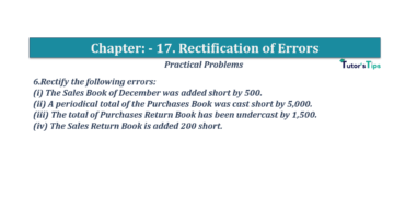 Question No.06 Chapter No.17 T.S. Grewal 1 Book 2019 Solution min min 360x202 - Chapter No. 17 - Rectification of Errors- Solution