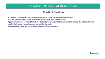 Question No.1 Chapter No.9 T.S. Grewal 2 Book 2019 Solution min min 360x202 - Chapter No. 9 - Issue of Debentures - Solution - Class 12