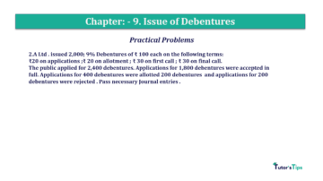 Question No.2 Chapter No.9 T.S. Grewal 2 Book 2019 Solution min min 360x202 - Chapter No. 9 - Issue of Debentures - Solution - Class 12
