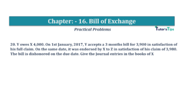 Question No.20 Chapter No.16 T.S. Grewal 1 Book 2019 Solution min min 360x202 - Chapter No. 16 - Accounting for Bills of Exchange - Solution