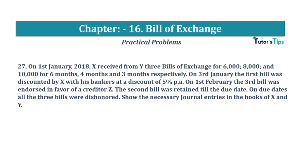 Question No 27 Chapter No 16
