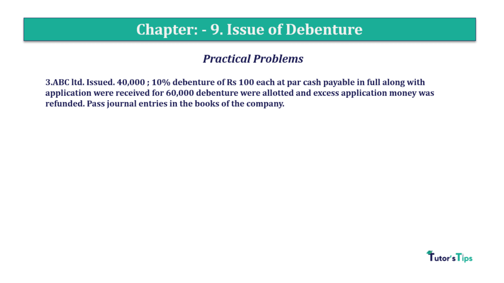 Question 3 Chapter 9 of +2-A