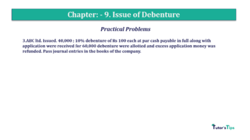 Question No.3 Chapter No.9 T.S. Grewal 2 Book 2019 Solution min min 360x202 - Chapter No. 9 - Issue of Debentures - Solution - Class 12