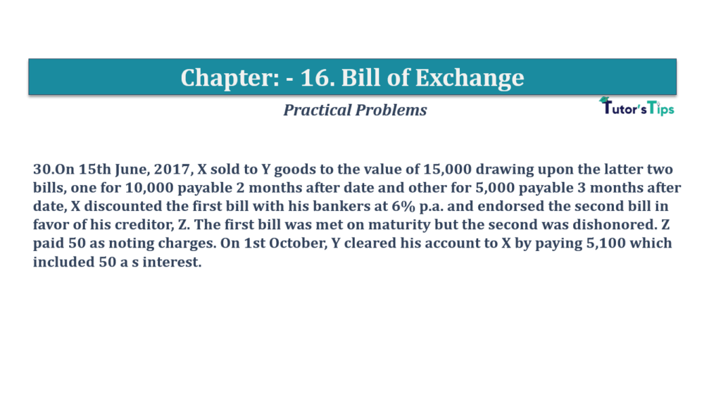 Question No 30 Chapter No 16