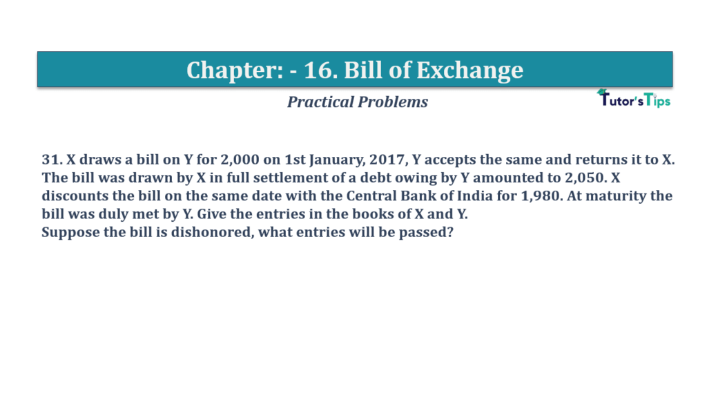Question No 31 Chapter No 16