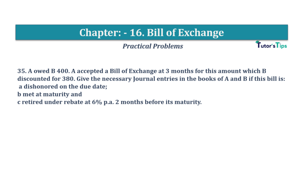Question No 35 Chapter No 16