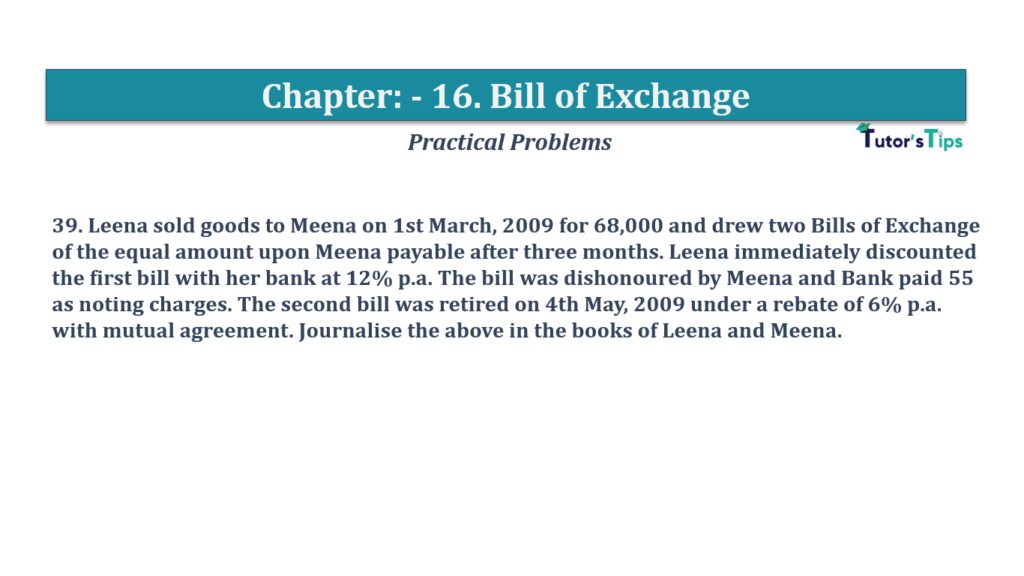 Question No 39 Chapter No 16