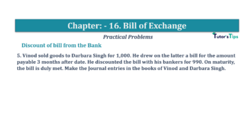 Question No.5 Chapter No.16 T.S. Grewal 1 Book 2019 Solution min min 360x202 - Chapter No. 16 - Accounting for Bills of Exchange - Solution