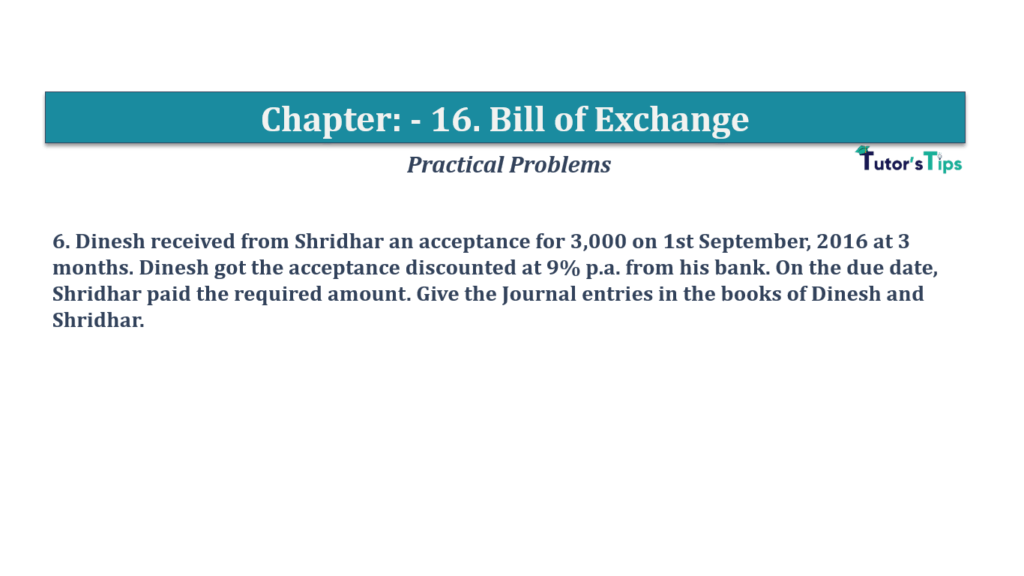 Question No 6 Chapter No 16