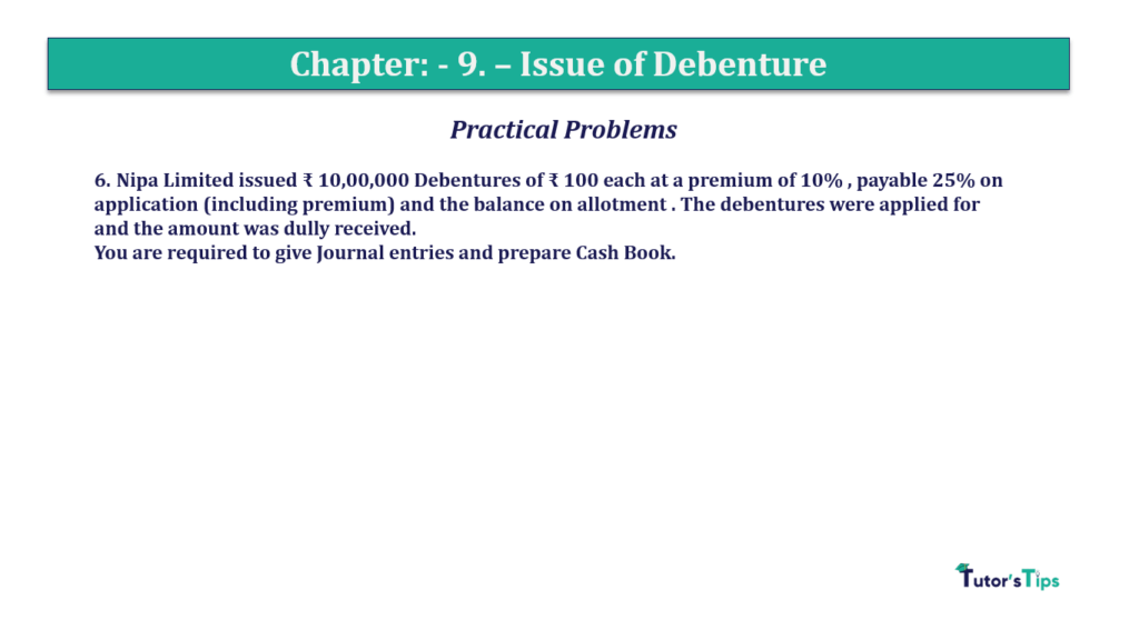 Question 6 Chapter 9 of +2-A