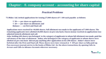 Question No.73 Chapter No.8 T.S. Grewal 2 Book 2019 Solution min min 360x202 - Chapter No. 8 - Company Accounts - Accounting for Share Capital