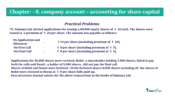 Question No.75 Chapter No.8 T.S. Grewal 2 Book 2019 Solution min min 360x202 - Chapter No. 8 - Company Accounts - Accounting for Share Capital