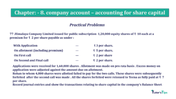 Question No.77 Chapter No.8 T.S. Grewal 2 Book 2019 Solution min min 360x202 - Chapter No. 8 - Company Accounts - Accounting for Share Capital