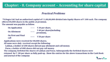 Question No.79 Chapter No.8 T.S. Grewal 2 Book 2019 Solution min min min 360x203 - Chapter No. 8 - Company Accounts - Accounting for Share Capital